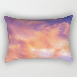 Flat Top Storm Clouds - Alaska Rectangular Pillow