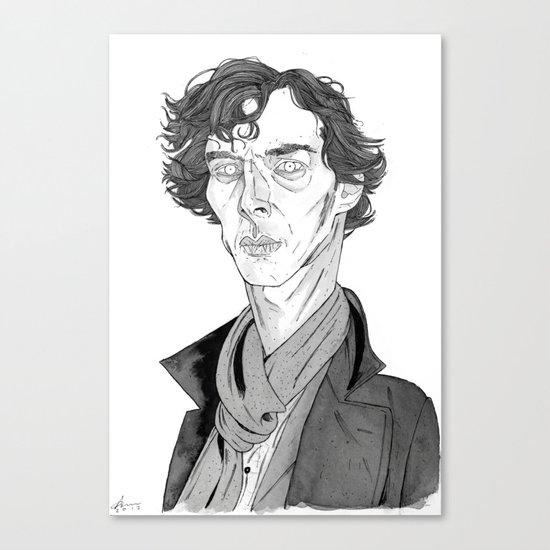 Benedict Cumberbatch - Sherlock Canvas Print