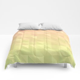 Pink and Green - Flipped Comforters