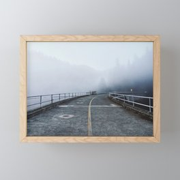 Foggy Bridge Framed Mini Art Print