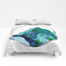 Turquoise Mountain Dreams Comforters