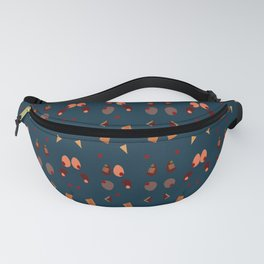 Chocolate Valentine's Day Memphis Pattern Fanny Pack