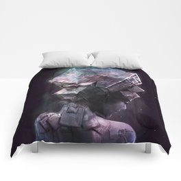Fluorite Goddess Comforters