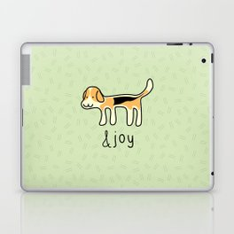 Cute Beagle Dog &joy Doodle Laptop & iPad Skin