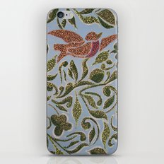 Bird & leaves iPhone & iPod Skin