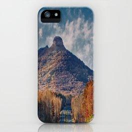 Pilot Mountain iPhone Case