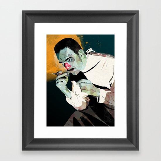 Dr. Sovac Framed Art Print
