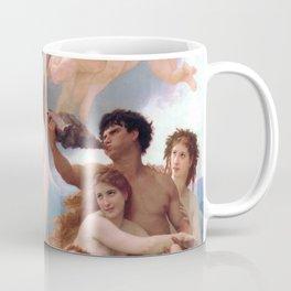 The Birth of Venus by William Adolphe Bouguereau Coffee Mug