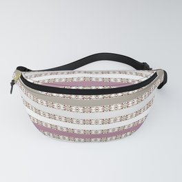 Openwork stripes Fanny Pack