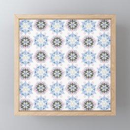Eastern ornament. Framed Mini Art Print