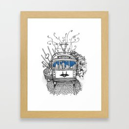 Melbourne Framed Art Print