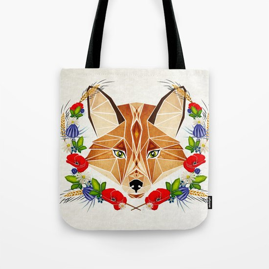 spring fox  Tote Bag