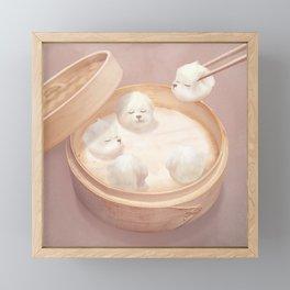Xiaolongbao Framed Mini Art Print