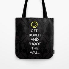 Smiley target Tote Bag