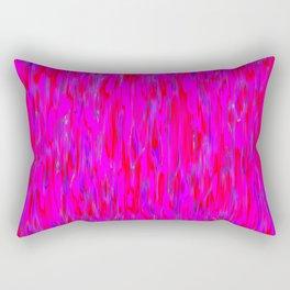 red purple verticals Rectangular Pillow