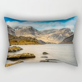 Ogwen Lake Snowdonia Rectangular Pillow