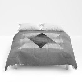 Pyamid Composition II Comforters