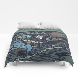 Symphony Of The Rising Tide Comforters