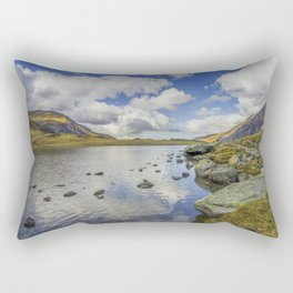 Lake Idwal Rectangular Pillow