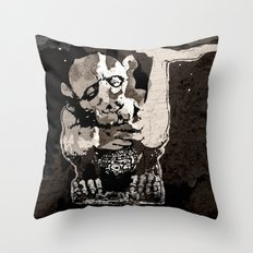 The GARGOYLE and the LOST GENERATION Throw Pillow