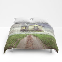 back down to earth Comforters