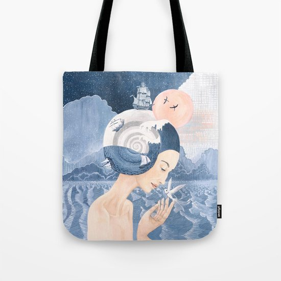 Sound of Sea Tote Bag