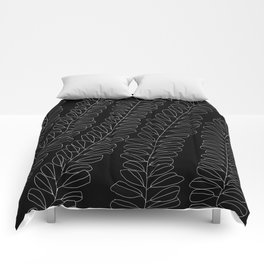 white ink 01 Comforters