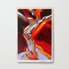 Flame by Anna Helena Szymborska Metal Print