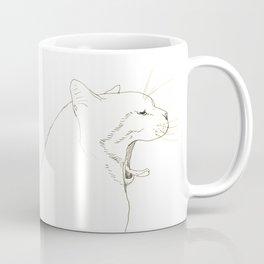 yawn Coffee Mug
