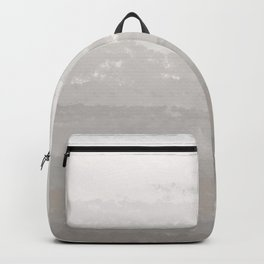 WATERCOLOR GREY HORIZON Backpack