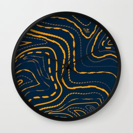 The Pathways of Life Wall Clock