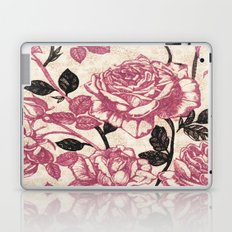 Toile de Jouy Rosas cálidas Laptop & iPad Skin