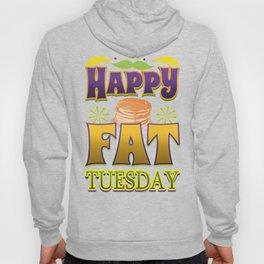 Happy Fat Tuesday Eat Pancakes Hoody