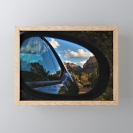 Looking Back on Enchanted Sedona Memories by Reay of Light Framed Mini Art Print