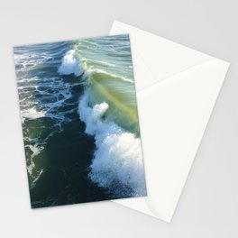 Ocean Green Stationery Cards