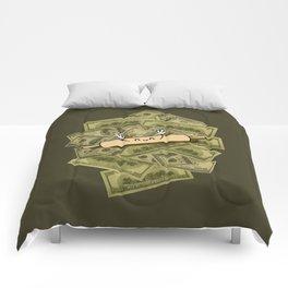 Rolling in Dough Comforters