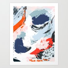 Abstract Color Pop Art Print