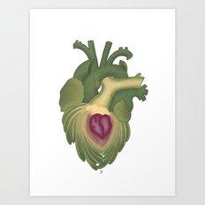 Cor, cordis (artichoke heart) Art Print