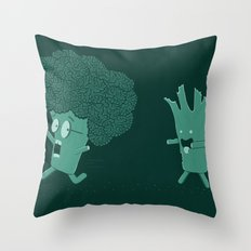 So Many Brains! Throw Pillow