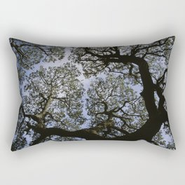 Oak Tree Reaching For The Sky Rectangular Pillow