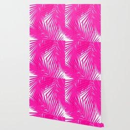 Palms Fuchsia Wallpaper