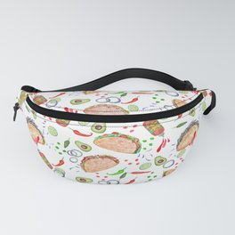 """Tacos are """"Hot Stuff"""" and we love them! Fanny Pack"""