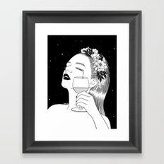 Cheers for tears Framed Art Print