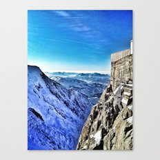 Mont-Blanc-France Canvas Print