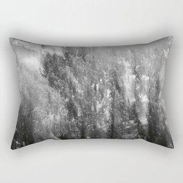 Silver Forest Rectangular Pillow