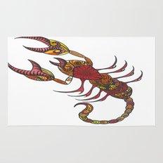 Tatoo Scorpion Rug