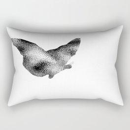 Butterfly Ripple Rectangular Pillow