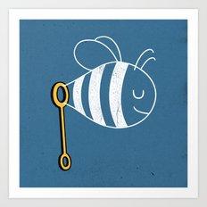 BubbleBee Art Print