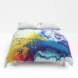 Color Explosion Comforters