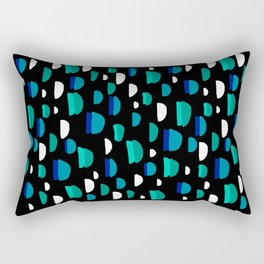 Stone Away Cartoon Terrazzo Rectangular Pillow